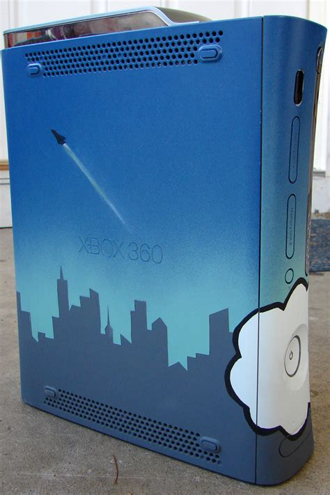spray paint original xbox dcemulation view topic painted my xbox 360