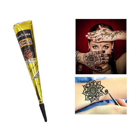 henna tattoos hull brown black indian henna paste for