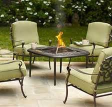 resin chairs stools patio furniture outdoors at the home