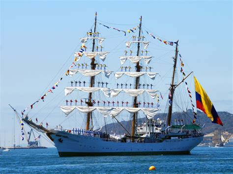 ship jigsaw puzzles the gloria colombian tall ship jigsaw puzzle in puzzle of