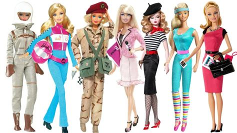 doll design jobs a brief history of barbie s work wardrobe from pilot to ceo