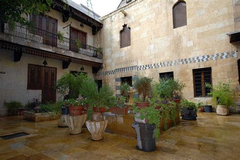 ancient middle eastern homes with flat roofs the courtyard houses of syria muslim heritage