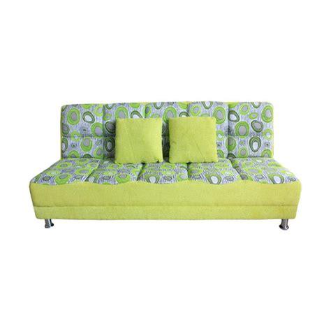 jual best furniture wellington s vituse sofa bed hijau