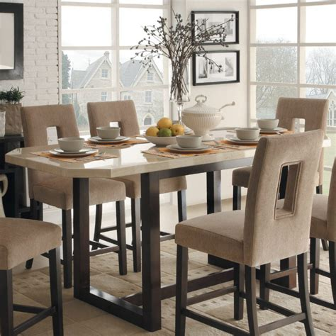 High Top Table Sets To Create An Entertaining Dining Space Dining Room Set High Tables