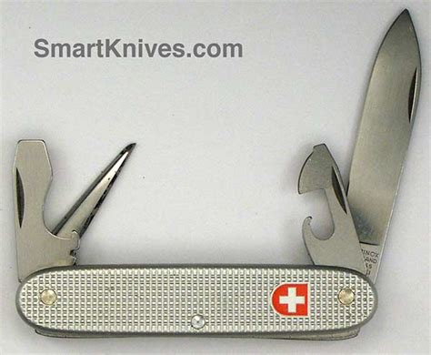 Swiss Army 2001 victorinox and wenger 2001 soldier 93mm aluminum alox