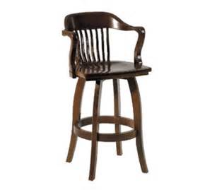 Bar Stools Restaurant Supply Waymar B408s Federal Bar Stool W Arms Wood Spoke Back 1