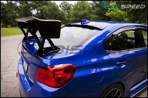 subaru wrx spoiler varis carbon fiber gt wing with mounts 2015 wrx 2015