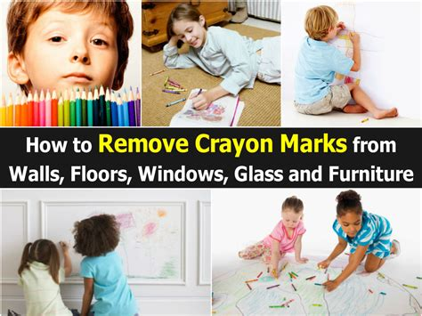 how to get crayon off couch how to remove crayon marks from walls floors windows