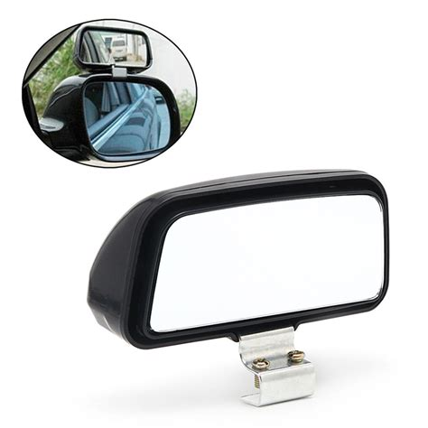 Bindspot Wide View Car Mirror 2017 car truck unversal adjustable wide angle mirror rear view blind spot 11x7cm rearview