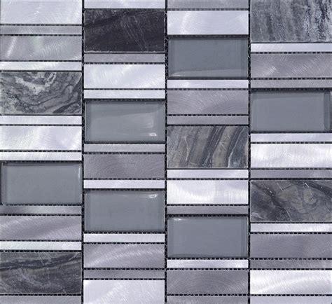 stone metal blend brushed stainless steel marble floor