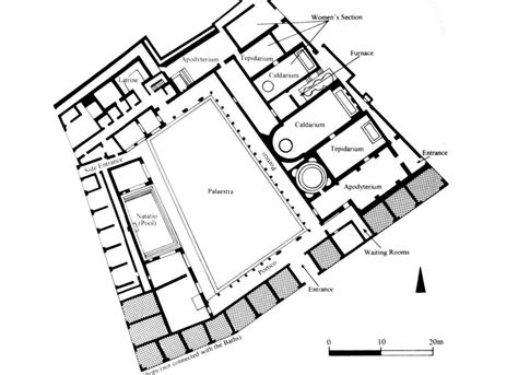 layout of roman bath house 19 perfect images roman bath house layout home building