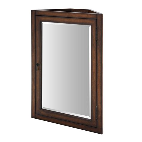 corner cabinet with mirror for bathroom useful reviews ryvyr malago corner mirrored medicine cabinet atg stores