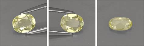 Yellow Safir Ceylon 02 harga batu green yellow chrysoberyl 0 62 karat asli sri