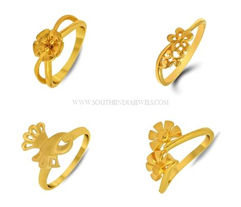 Gold Ring Design For Images by Gold Ring Designs For South India Jewels