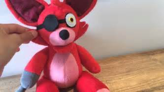 Foxy plushie fnaf youtube