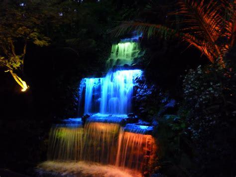 Panoramio Photo Of Waterfall Lights Waterfall Lights