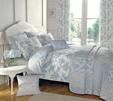 blue bedding malton bedding set in blue free uk delivery terrys fabrics