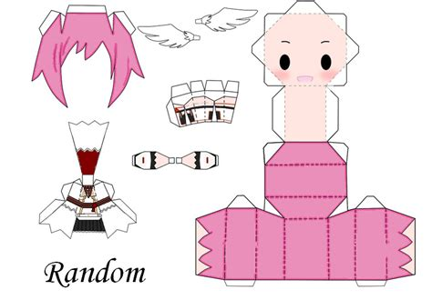 Anime Chibi Papercraft - paper crafts anime templates and