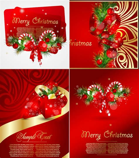 red christmas greeting cards vector vector graphics blog
