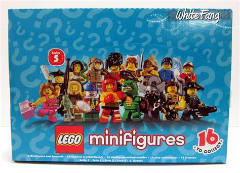 Lego 8805 Minifigures Series 5 Box 60pcs review 8805 lego collectable minifigures series 5 special lego themes eurobricks forums