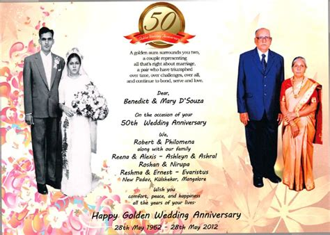 Wedding Anniversary Jubilee by Quotes For Golden Jubilee Wedding Anniversary In