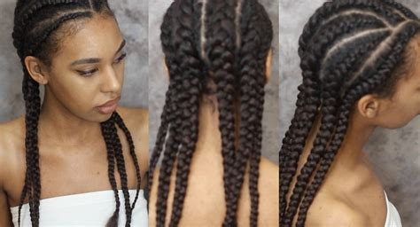 steps in how to cornrow invisible braidsusing extensions gallery cornrow with hair extensions pictures black