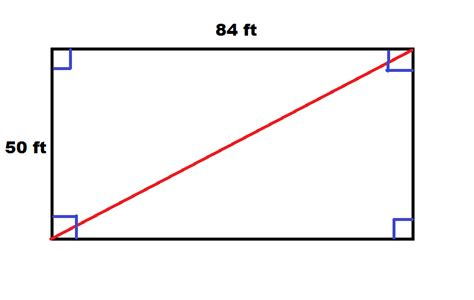what do you call the side of a boat how to find the length of the diagonal of a rectangle