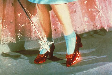 ruby slippers wizard of oz dorothy s ruby slippers are falling apart and here s how