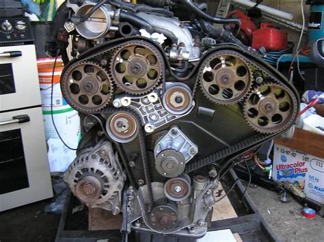 Vauxhall V6 Frontera Limited Timing Belt Replacement