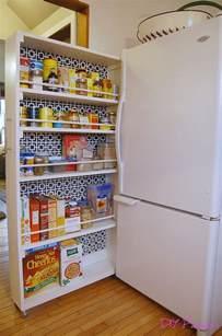diy space saving rolling kitchen pantry closet diy kitchen