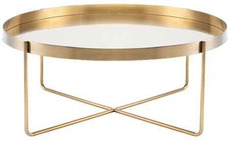 Gold Metal Coffee Table by Gaultier 40 Quot Gold Metal Coffee Table Hgde122 Nuevo