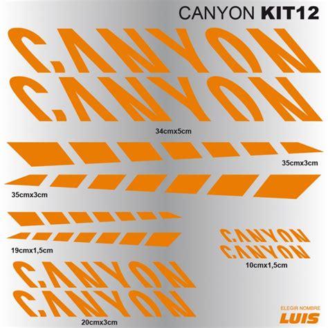 Canyon Bike Aufkleber by Canyon Kit12 Aufkleber F 252 R Fahrrad Vinyls Abziehbilder