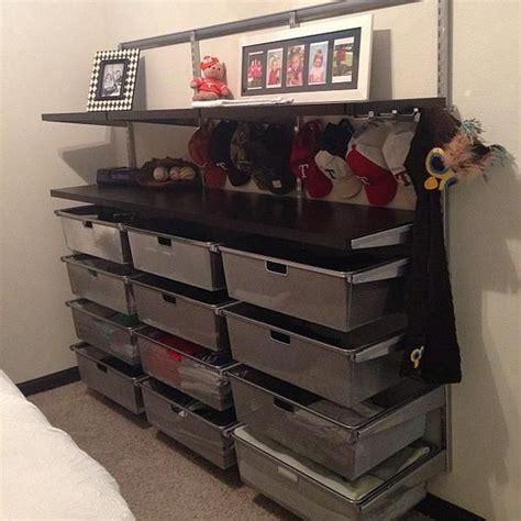 elfa mesh closet drawers the container gt platinum elfa hanging mesh drawer