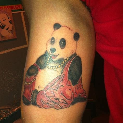panda express tattoo 25 awesome panda bear tattoo ideas