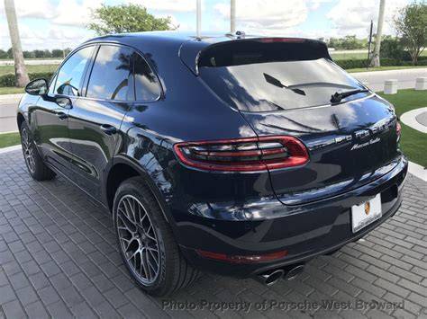 2018 porsche macan turbo 2018 new porsche macan turbo awd at porsche west broward