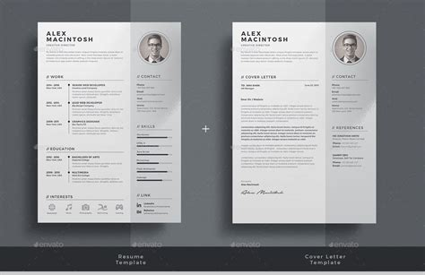 envato resume templates resume by themedevisers graphicriver