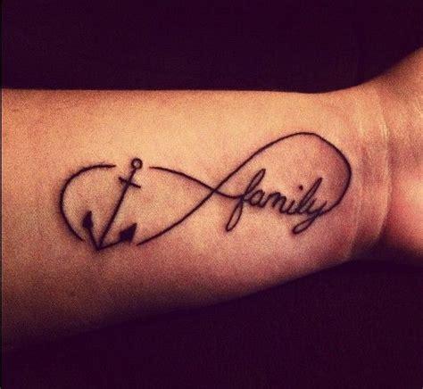 signo infinito y frase love tatuajes para mujeres infinito con ancla tattoo imagui