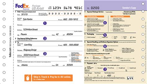 fedex international air waybill blank form pdf redefining monitoring
