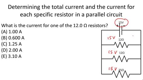 resistors in parallel exle problems resistors in parallel ck 12 foundation