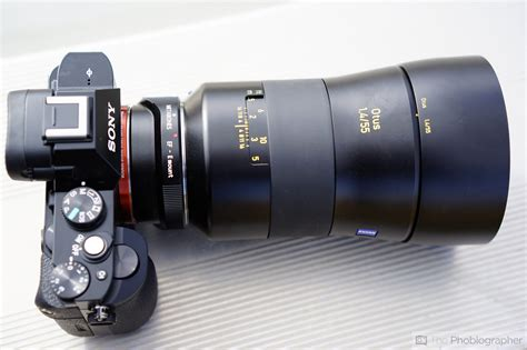 Sony Alpha A7 Ii Sony Fe 55mm F1 8 review zeiss 55mm f1 4 otus nikon f the phoblographer