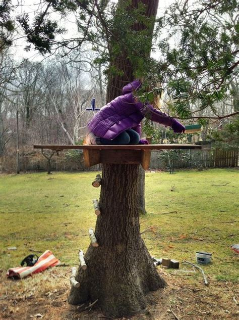 backyard treehouse ideas turning the backyard into a playground cool projects