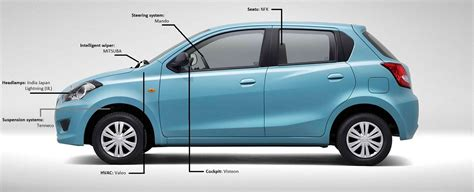 Spare Part Datsun Go datsun go meshing technology with innovation