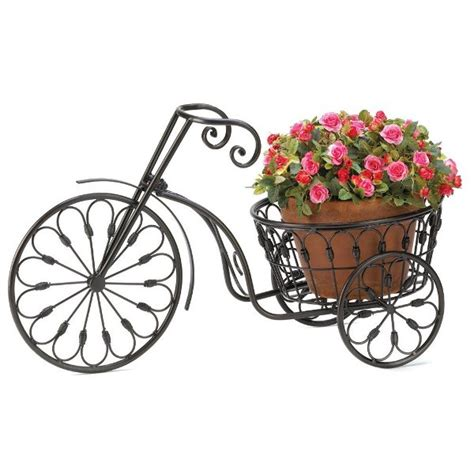 Bicycle Garden Planter by Display Your Plants In A Unique Way With Bicycle Planters
