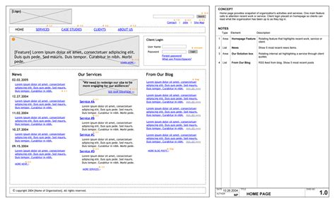 website wireframe diagram website free engine image for
