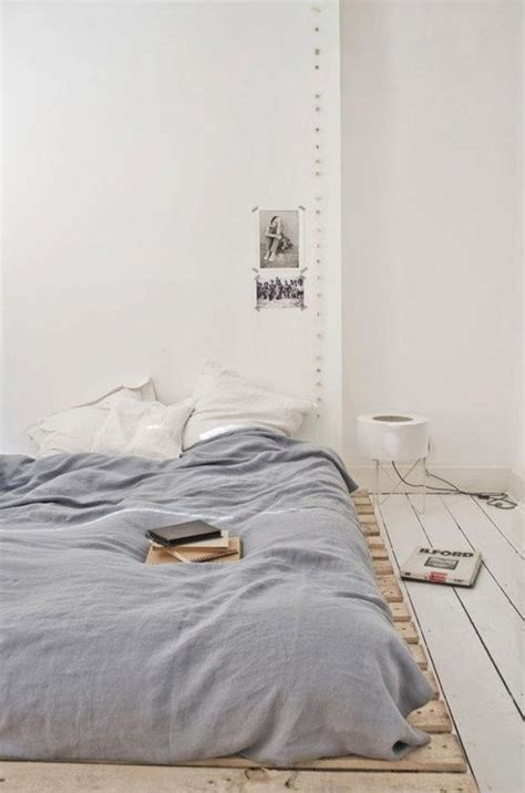 Frame For Bed On The Floor Floor Mattress Collage Chalkboard Headboard Design Home And Room Pinterest Low Beds