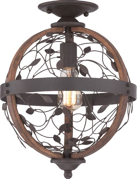 Bronze Ceiling Light by Quoizel Chb1612dk Chamber Vintage Darkest Bronze Ceiling