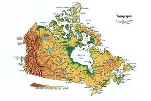 canada topographic mapfree maps of america