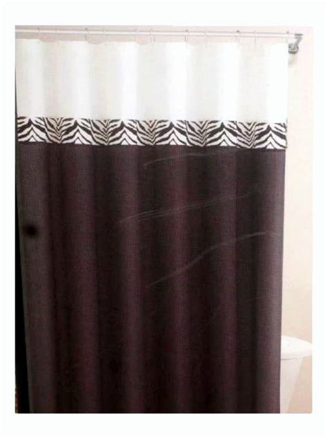 black and white fabric shower curtain black white zebra stripe fabric shower curtain and hooks