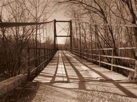 swinging bridges missouri photo4 jpg picture of swinging bridge osage beach