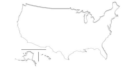 blind map usa blind map of usa